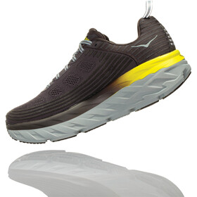 Hoka One One Bondi 6 Running Shoes Men Black Olive/Pavement